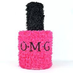 Nail polish pinata in any color!