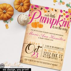 Baby Shower Invitation Backgrounds Free Glamorous Little Pumpkin Baby Shower Decor Pumpkin Baby Shower Decorations .