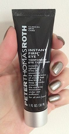 BEFORE/AFTER PHOTOS: Review Peter Thomas Roth FIRMx Eye Temporary Under Eye Tightener #bstat