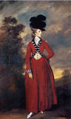 Lady Worsley, 1776 by Joshua Reynolds.