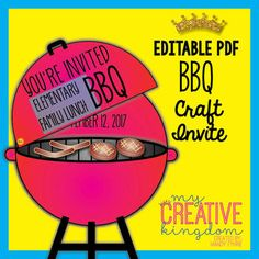 BBQ (Barbecue) Invit