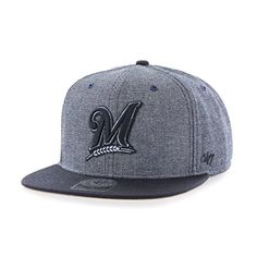 8e2e2080236 Milwaukee Brewers Snapback Hats Milwaukee Brewers