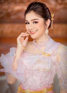 Khmer Wedding, Wedding Costumes, Lace Corset, Cambodia, Adventure Travel, Wedding Dress, Formal Dresses, Fashion, Bride Groom Dress