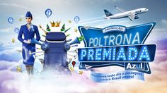 Promotion - Poltrona Premiada Azul (winning seat Azul) on Behance