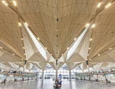 Pulkovo Airport Terminal 1, St Petersburg - Grimshaw Architects (2014)