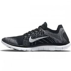 cheap for discount 707e7 4bc61 Nike - Nike Free 4.0 Flyknit Homme Noir Pas Cher