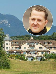 Michael Schumacher: Michael Schumachers Villa in Gland.