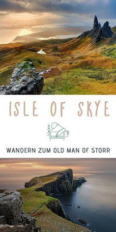 Wandern auf der Isle of Skye? Die Insel des Nebels, die zu Schottland gehört, bietet atemberaubende und zerklüftete Landschaften, die zum Träumen einladen. Und die Wanderung zum Old Man of Storr ist zweifellos das Highlight der Insel! #wandern #isleofskye #skye #schottland #oldmanofstorr #wanderung #wanderweg Wandern Isle of Skye | Wanderung Isle of Skye | Wandern Skye | Wandern Schottland | Old Man of Storr | Schottland Reise | Schottland Urlaub | Wanderung Schottland