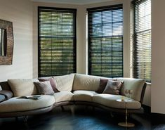 Buy wooden blinds, now with free UK delivery. Real wood blinds from just We manufacture only the highest quality blinds. Best Interior, Interior Goods, Interior Design, Blind Repair, Blinds Direct, Motorized Blinds, Cleaning Blinds, House Blinds, Custom Window Treatments
