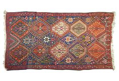 "Turkish Kilim, 9'10"" x 4'8"" on OneKingsLane.com"