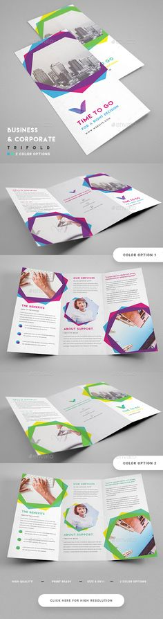 Corporate Minimal Trifold Template  — PSD Template #green #official • Download ➝ https://graphicriver.net/item/corporate-minimal-trifold-template/18502967?ref=pxcr