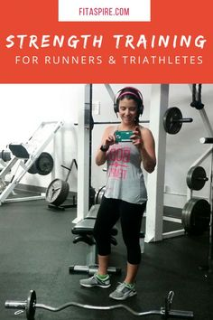 6 weeks of strength training workotus for runners and triathletes. Follow this plan to help improve strength, power, and prevent injuries! Learn WHY it's importatnt and download this 6 week training plan - FREE for a limited time!