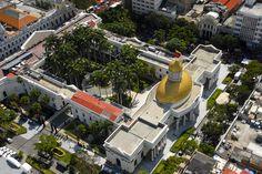 Vista aerea del Capitolio. Caracas