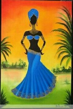 African women in wood African Artwork, African Art Paintings, African American Art, African Women, Arte Fashion, Afrique Art, African Theme, Black Artwork, Afro Art