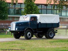 IFA Z 6 (= IFA H 6 Z) Zugmaschine aus dem VEB Kraftfahrzeugwerk  Ernst Grube  Werdau, DDR - fotografiert am 31.05.2009 zur Oldtimer Show in Paaren Glien - Copyright @ Ralf Christian Kunkel