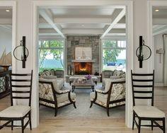 Michigan Lake Home living space