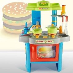 Children's Blue Cookie play kitchen  http://www.ebay.co.uk/itm/Childrens-Blue-Cookie-play-kitchen-/252521484485?hash=item3acb7410c5:g:-4cAAOSw8oFXyFrx