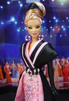 OOAK Barbie NiniMomo's Miss West Virginia 2009