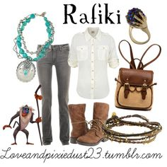 """Rafiki"" by loveandpixiedust on Polyvore"