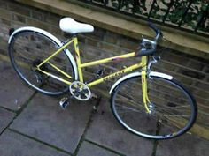 50CM LADIES PEUGEOT ROAD BIKE YELLOW  5 GEARS GREAT CONDITION Finsbury Park Picture 1