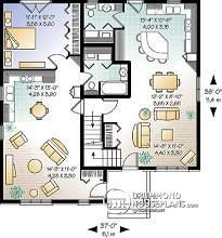 Multi generational house on pinterest house plans floor for Multi generational home designs