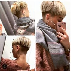 Find Out What Short Hairstyles For Your Face Shape Page 4 of 8 Edgy Hair face find Hairstyles Page Shape Short Short Sassy Hair, Short Pixie, Pixie Cut, Short Hair Cuts, Short Hair Styles, Pixie Hairstyles, Pixie Haircut, Short Wedge Hairstyles, Bowl Haircuts