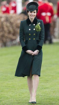 Kate Middleton's St. Patty's Day manteau a un sens spécial à travers AOL Lifestyle Re