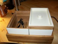 Convert An IKEA Bath Container Into A Stylish Charging Station | Lifehacker Australia