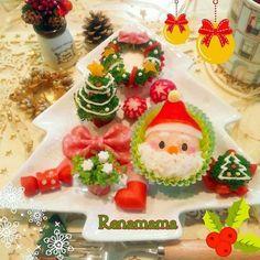 可愛いをひと皿に♪クリスマスワンプレートまとめ | ペコリ by Ameba - 手作り料理写真と簡単レシピでつながるコミュニティ -