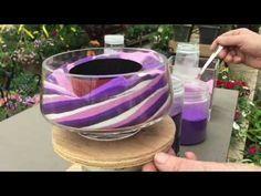 Sand Art Succulent Vase - Colasantis - YouTube