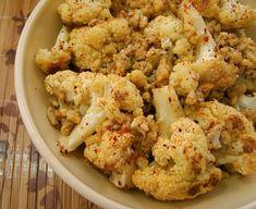 Roasted Cauliflower and Walnut Salad