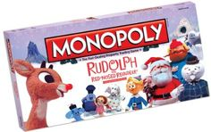 Monopoly: Rudolph The Red-Nosed Reindeer Collector?s Edition in Board Games. Christmas Movies, All Things Christmas, Christmas Time, White Christmas, Holiday Movies, Merry Christmas, Rudolph Red Nosed Reindeer, Rudolph The Red, Family Game Night