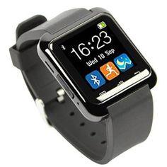 EasySMX Bluetooth 4.0 Multi-Languages Smart Bande Watch Smartwatch avec Ecran Tactile Montre Intelligent Support OS Android Smartphones…