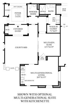 1000 Images About Multi Generation Floor Plans On