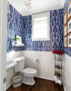 Powder Bathroom Reveal
