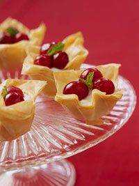Mini Cranberry Phyllo Tarts Per Recipe 15, Calories 29, Carbohydrate (gm) 6, Sodium (mg) 17