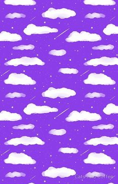 'Shooting Stars - Purple' iPhone Case by Cats-And-Coffee Purple Glitter Background, Purple Aesthetic Background, Purple Backgrounds, Cute Wallpaper Backgrounds, Cute Wallpapers, Purple Wallpaper Phone, Wallpaper App, Aesthetic Iphone Wallpaper, Moving Wallpapers