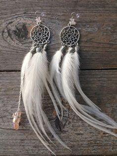 Primitive Tribal Earthy Rustic Earrings by SheriMalleryHandwork www.etsy.com/...