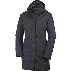 Intercambio de Columbia Salcantay largo con capucha chaqueta para mujer relleno sintético-Negro 187 EUR EBAY