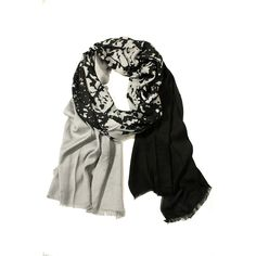 Tree of Life Gray design inspiration on Fab. Closet Accessories, Fashion Accessories, Tech Accessories, Tomboy Fashion, Fashion Outfits, Tomboy Style, Black And White Scarf, Black White, Grey Scarf
