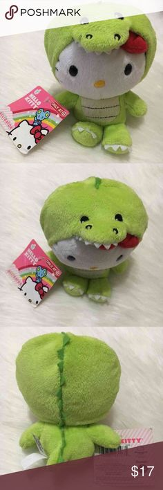 Hello Kitty Alligator Plush Target exclusive alligator Hello Kitty SMALL Plush...like new condition with tags... Hello Kitty Accessories