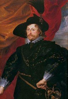 Vladislao IV Vasa Rey de Polonia, Gran Duque de Lituania, Rutenia, Prusia, Masovia, Samogitia y Livonia; elegido Gran Duque de Moscú.