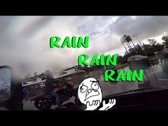 MotoVlog ★6. Bloody L plates! 1800cc M109r Suzuki Boulevard with the Sachs 150kn and rain - YouTube