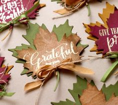 13 Nov 2015 : Jennifer McGuire Ink : Double Die Cutting (Thanksgiving Place Settings with MISTI) Thanksgiving Place Cards, Thanksgiving Favors, Thanksgiving Holiday, Christmas, Jennifer Mcguire Ink, Stamping Tools, Paper Ornaments, Fall Cards, Card Tutorials