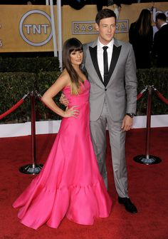 Lea Michele, Cory Monteith SAG Awards 2013, my heart goes out to Lea.
