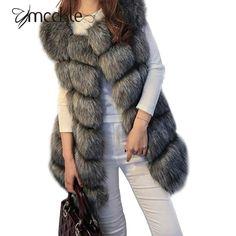 2016冬コート女性フェイクキツネの毛皮のベストブランド躾fuorrureファム毛皮のベストファッション高級ピール女性のジャケットジレveste