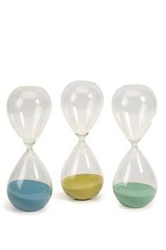 Parole's Large Hourglass - Set of 3