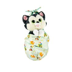 Figaro Plush with Blanket Pouch - Pinocchio - Disney Babies - Small shopDisney Disney Dogs, Disney Plush, Baby Disney, Disney Mickey, Disney Parks, Mickey Mouse, Disney Nursery, Winnie The Pooh Plush, Fluffy Blankets