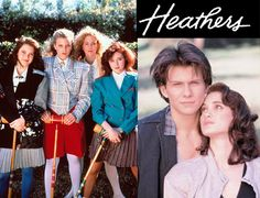 HEATHERS  this movie is TRIPPY as F---   reminded me of mean girls at first then   reminded me of wildthings ... interesting for an 80's movie that ended up on netflix