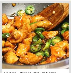 Chinese Jalepeno Chicken Recipe #Food #Drink #Trusper #Tip